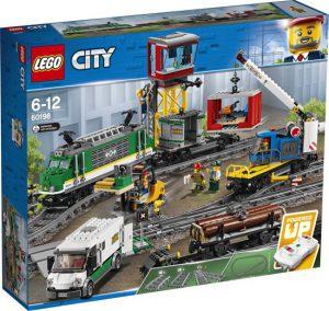 2 LEGO City Vrachttrein