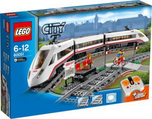 3 LEGO City Hogesnelheidstrein