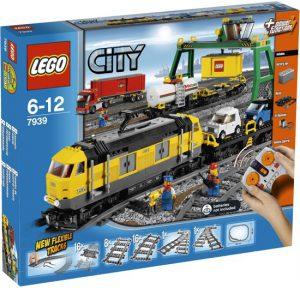 4 LEGO City Vrachttrein