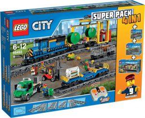 5 LEGO 66493 City Trein Value Pack 4 In 1
