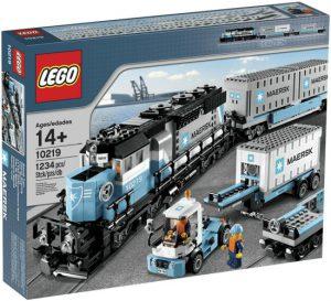 6 LEGO Maersk Trein