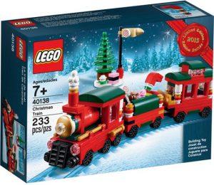 9 lego kersttrein