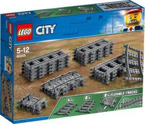 BONUS LEGO City Rechte en Gebogen Rails