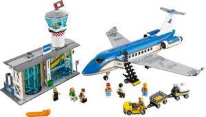 LEGO City Vliegveld Passagiersterminal