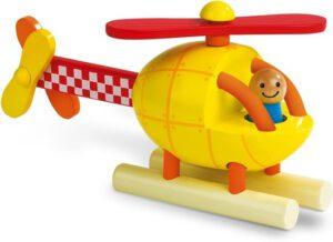 3 Speelgoedhelikopters janod