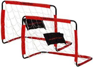 Dunlop voetbaldoelen rood