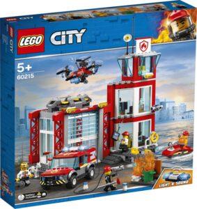LEGO City brandweerkazerne constructie speelgoed