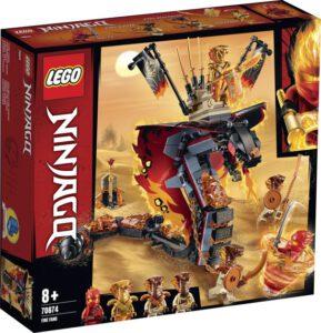 LEGO NINJAGO Vuurtand 70674 constructie speelgoed